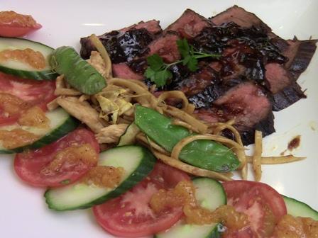 pan seared steak pic