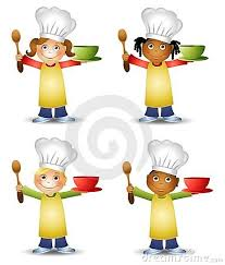 4 kids cooking